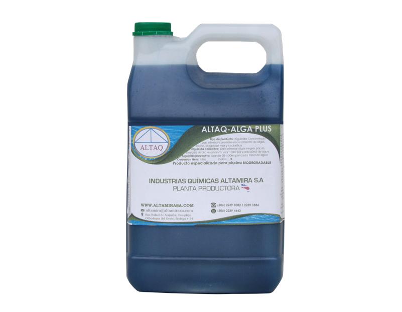 ALTAQ-ALGAPLUS (Elimina Algas en Agua) Galón
