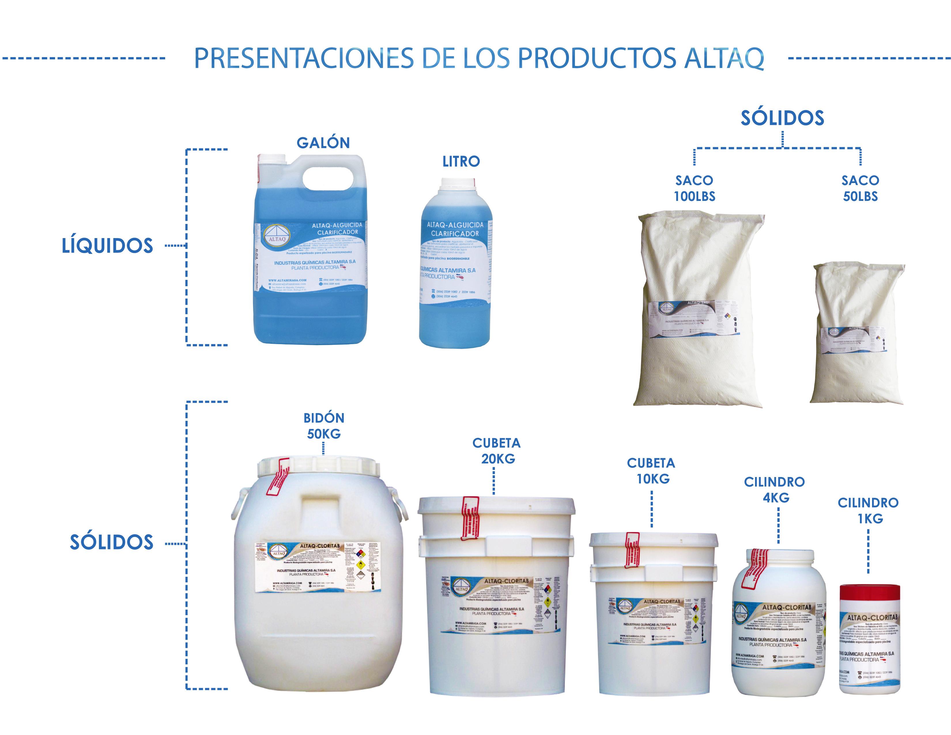 Productos para piscinas capacitaci n altaq piscinas for Productos para piscinas