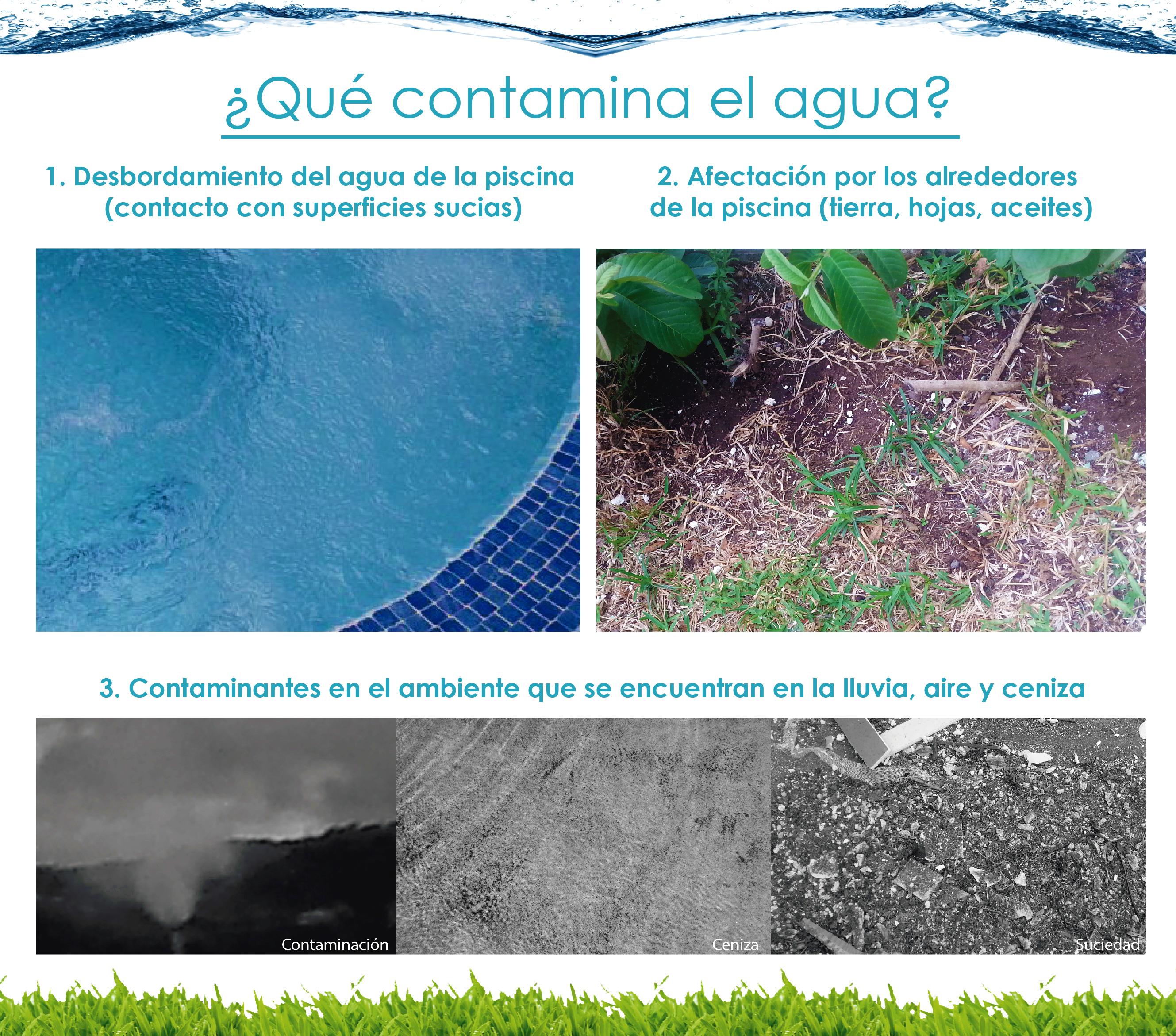 Transición de época seca a lluviosa para las piscinas