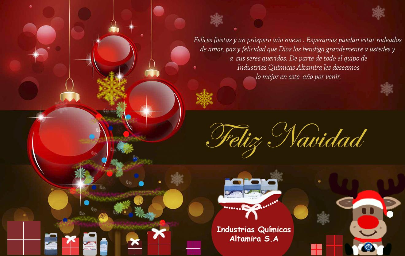 ¡Feliz Navidad Altamiritos! 2015