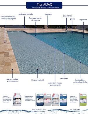tips altaq - accesorios para piscinas