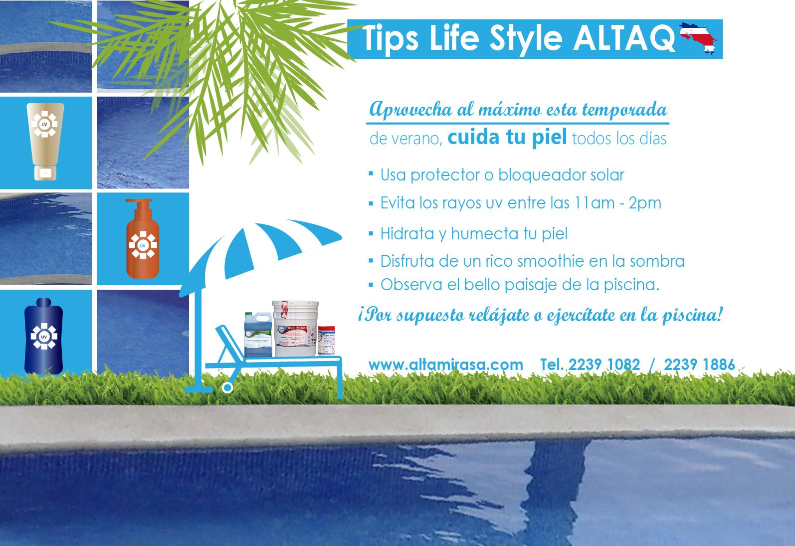 Tips life style ALTAQ para el verano