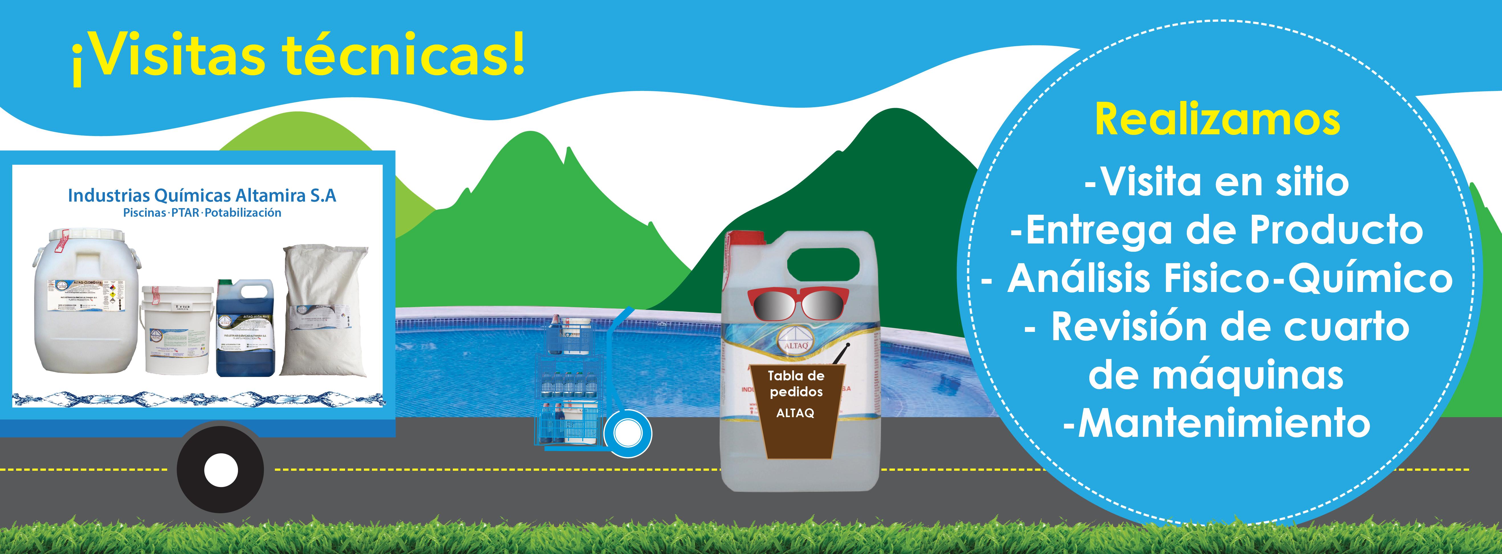 revisión y visita de piscinas, ptar, calderas, tanques de agua, calderas